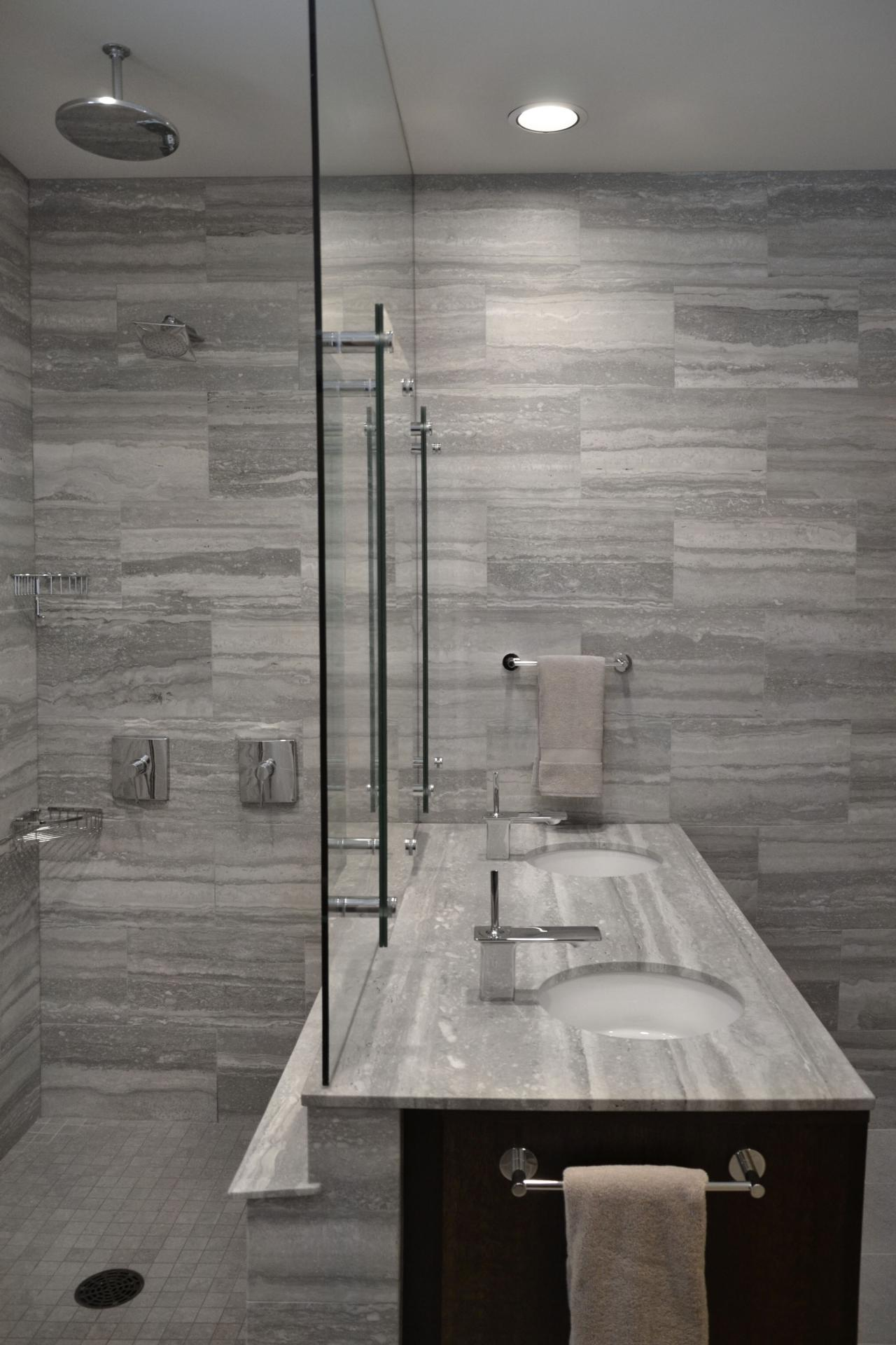 gray bathroom tile designs photo page hgtv 18552