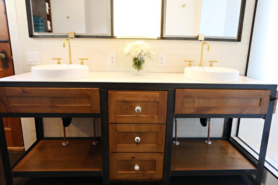 Custom Vanity in Family Bathroom