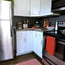 Compact Kitchen Gets Updated Look