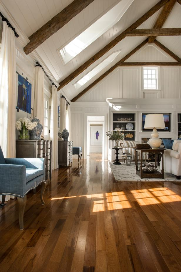 Hardwood Flooring In Open Plan Hgtv