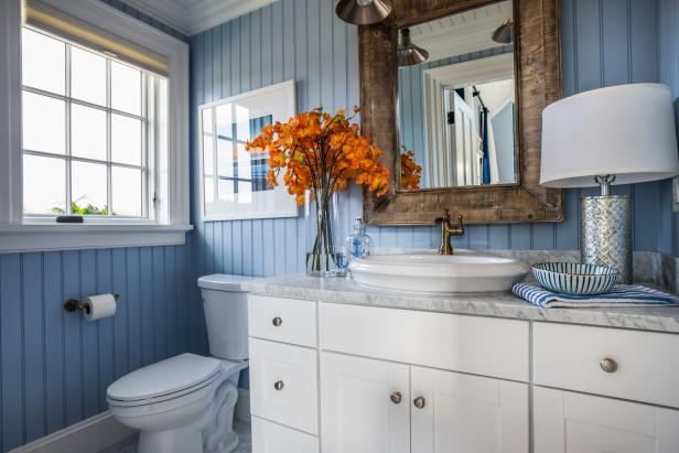Guest Bathroom from HGTV Dream Home 2015