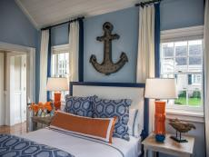 Metal Anchor Over Headboard