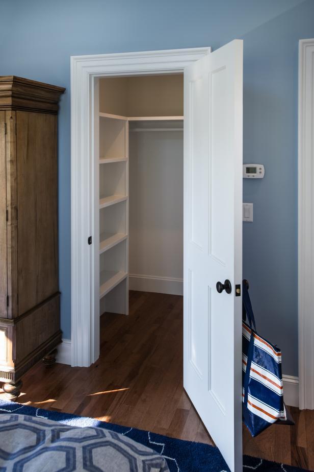 Guest Bedroom Walk In Closet Hgtv