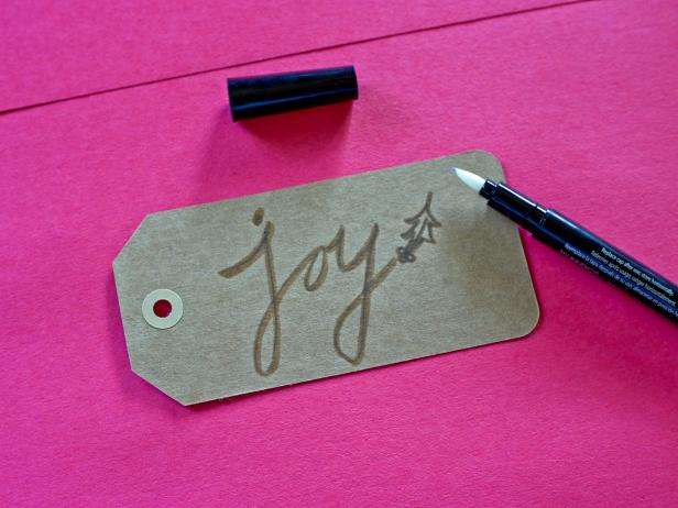 Write Holiday Tag Message