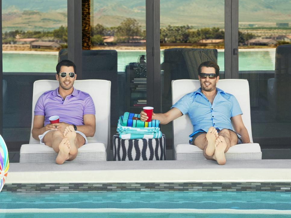 The Property Brothers Las Vegas Home Property Brothers At Home Hgtv