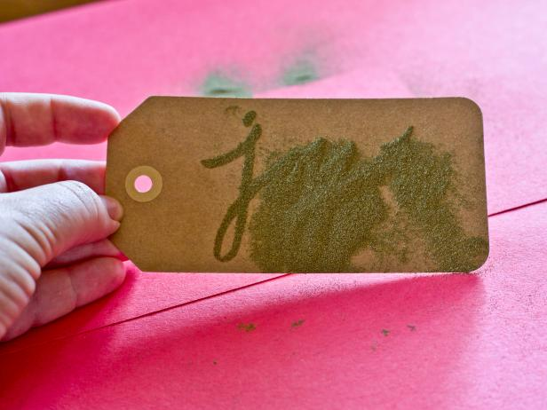 Apply Embossing Powder