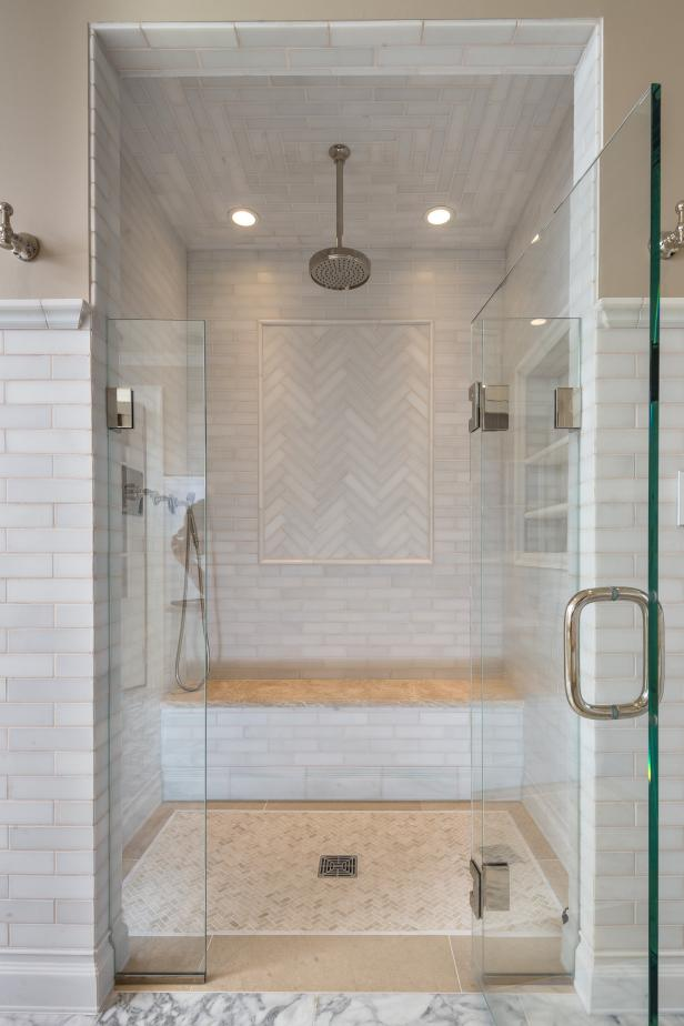 Elegant Walk In Shower Hgtv