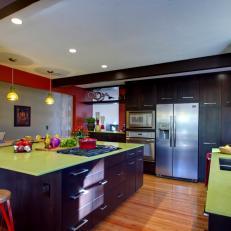 red kitchen photos hgtv