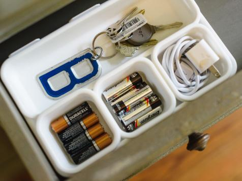 Brilliant Junk Drawer Organizing Tips You've Never Tried
