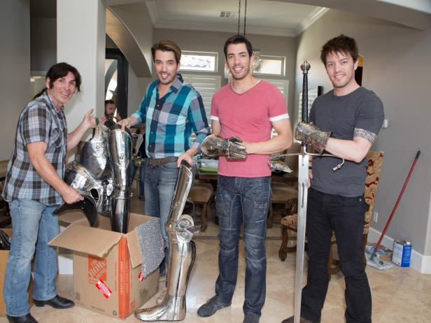 Suit of Armor With the Property Brothers