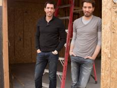 Property Brothers on Construction Site