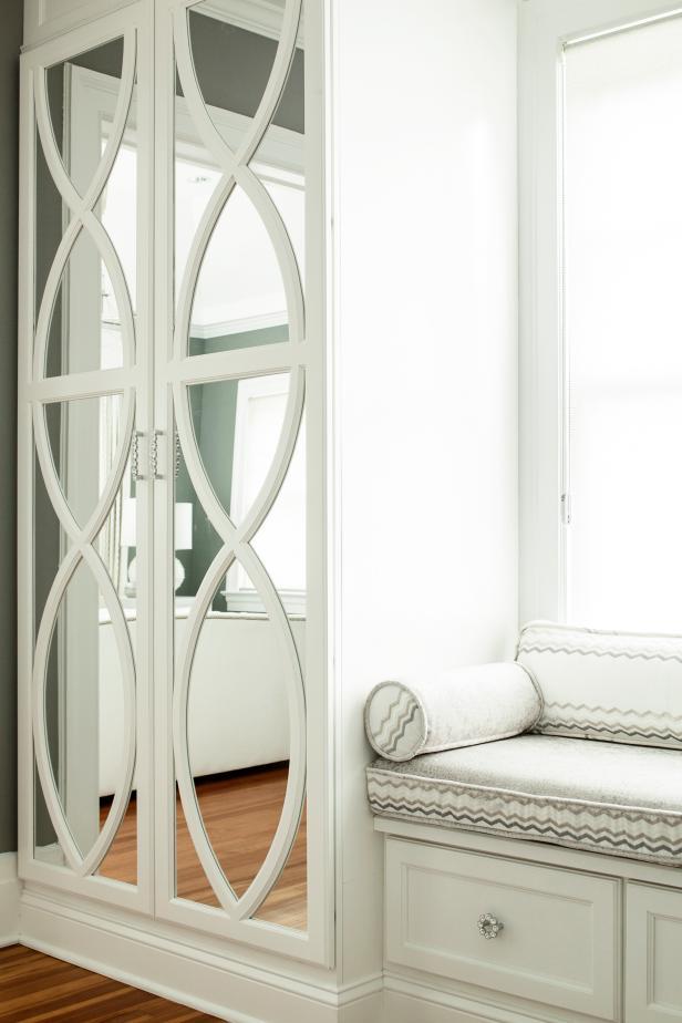 Stylish Built In Wardrobe In Master Bedroom Hgtv