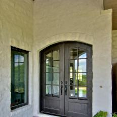 Superieur French Country Entry With Arched Doors