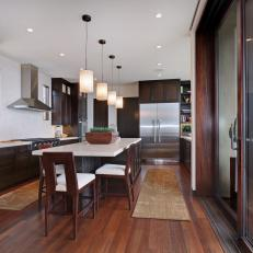 Streamlined California Contemporary Kitchen