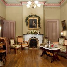 Historic Parlor With Piano & Victorian Living Room Photos | HGTV