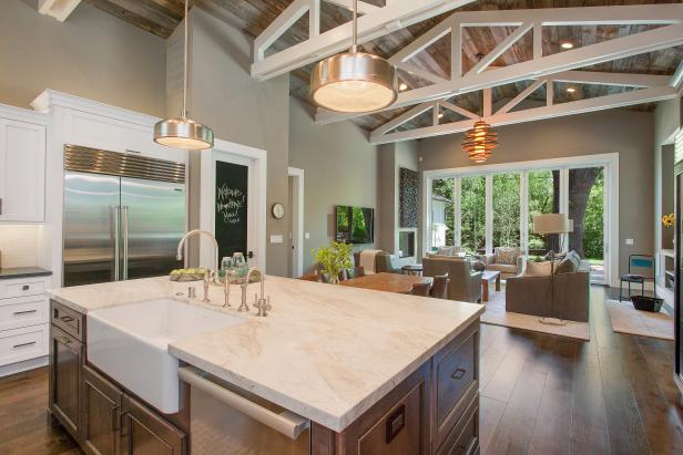 Contemporary Kitchen With Rustic Touches Hgtv