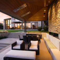 Day-or-Night Outdoor Living