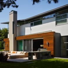 Modern Home With Chic Patio