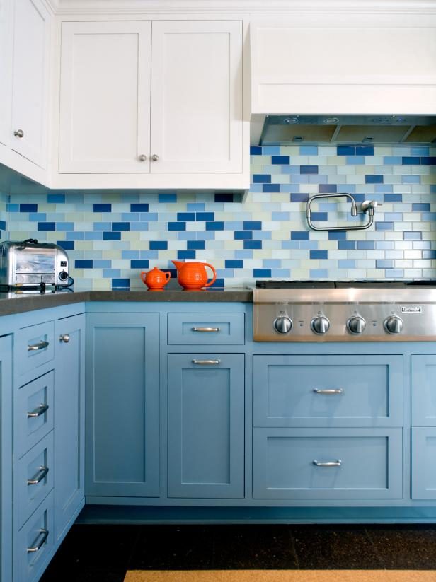 3x6 Herringbone Backsplash