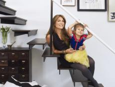 Genevieve Gorder With Daughter Babelle