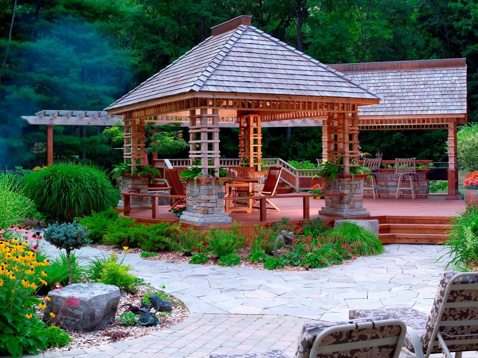36 Backyard Pergola and Gazebo Design Ideas | DIY on