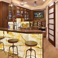 Sports Bar With a Sophisticated Spin