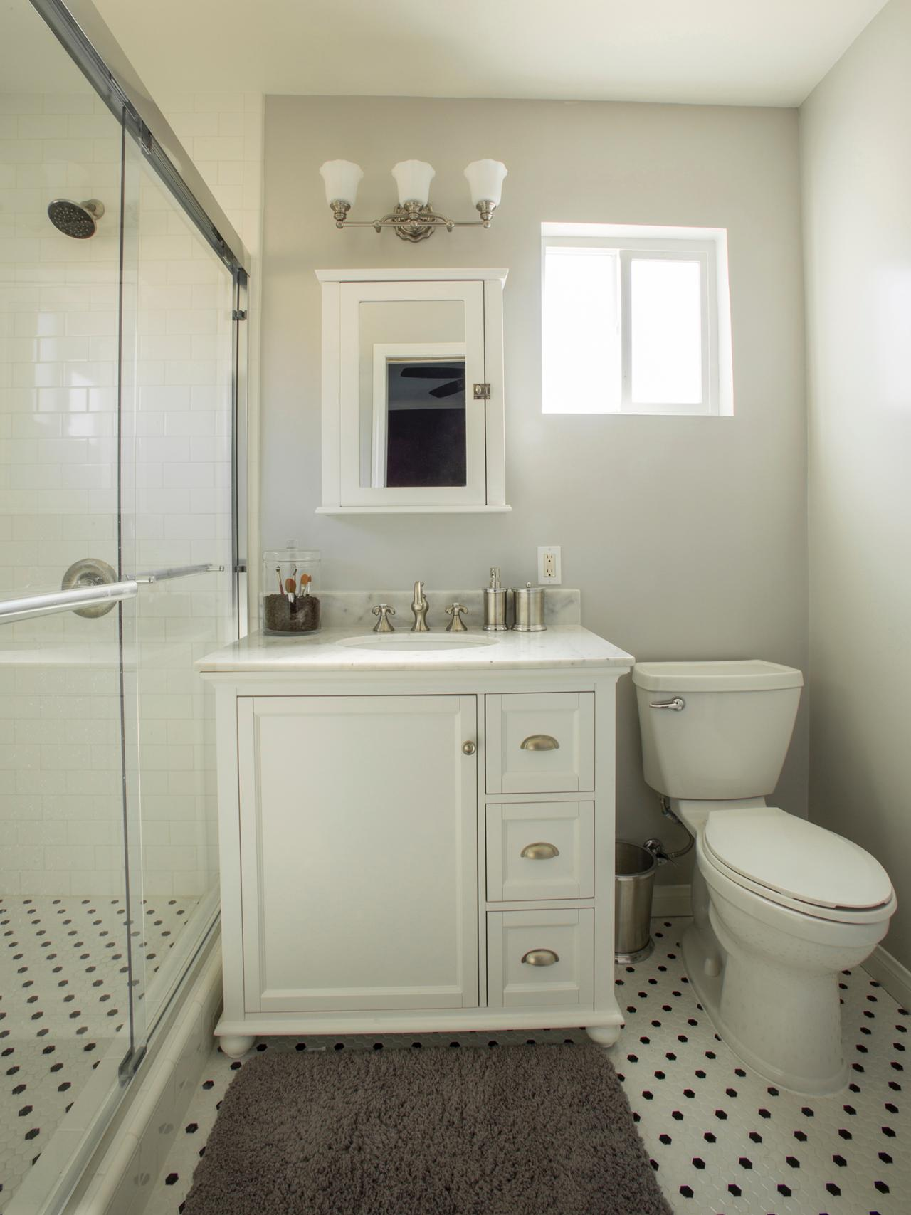 bathrooms gray and white photo page hgtv 17224