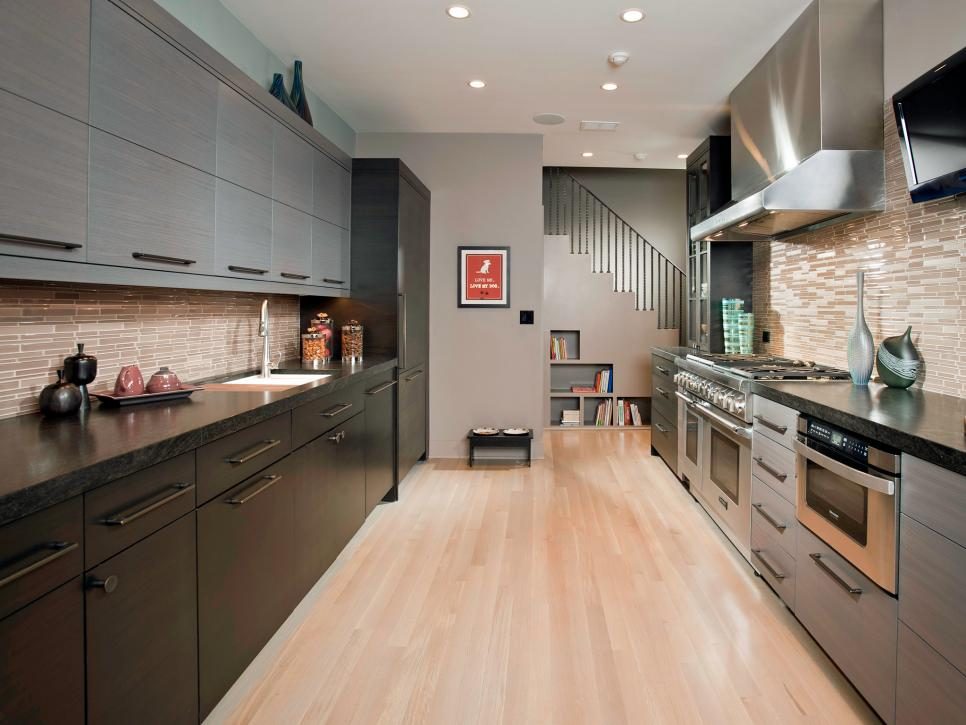 contemporary kitchen gallery small galley kitchen design pictures amp ideas from hgtv hgtv 2491