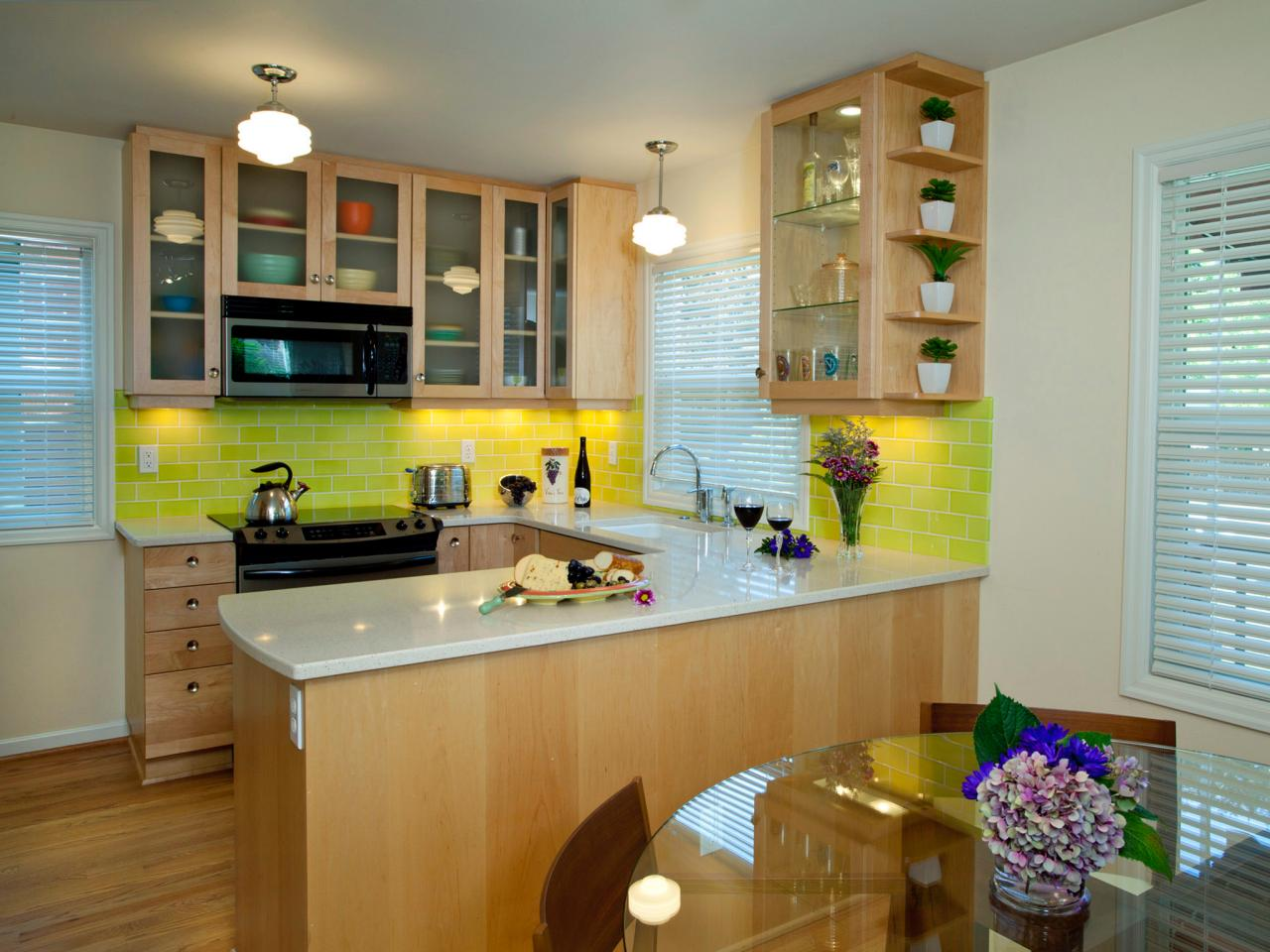 U shaped kitchen design ideas pictures ideas from hgtv I shaped kitchen