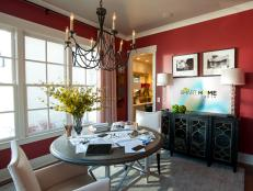 HGTV Smart Home 2014 Dining Room: An Explosion of Color