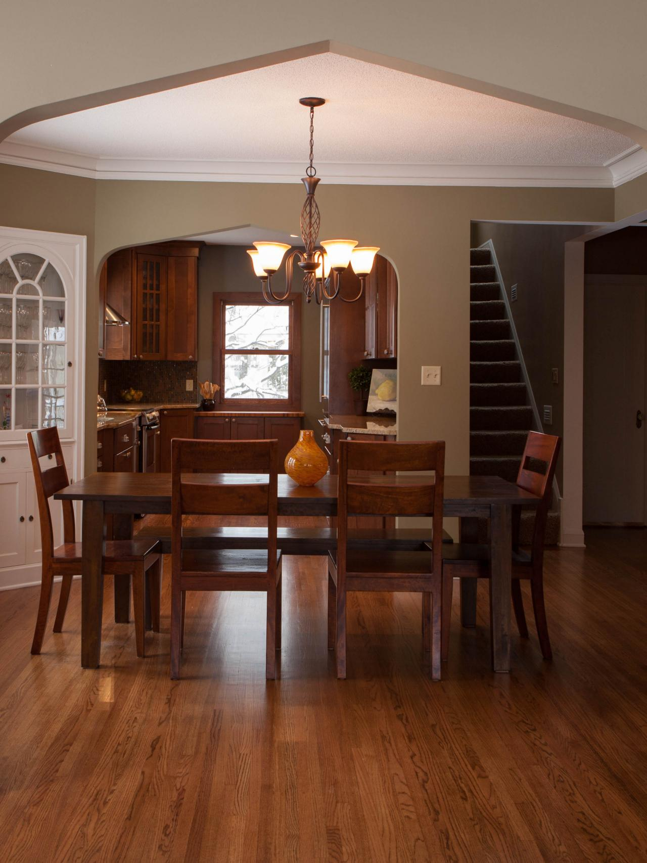 1940 S Craftsman Archway Adjoining Rooms Hgtv