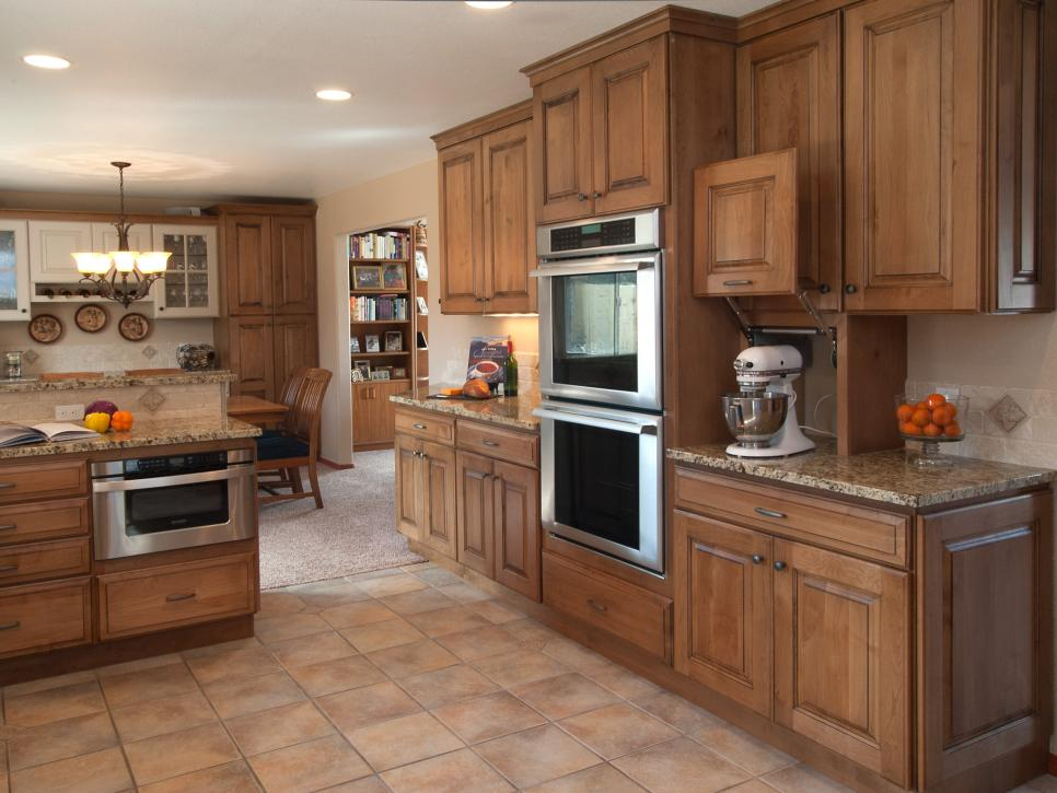 Transitional Kitchen with Custom Cabinetry and Built-Ins