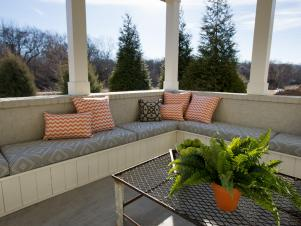 HGTV Smart Home 2014 Covered Porch