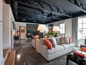 HGTV Smart Home 2014 Basement Rec Room