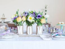 Show your mom how much you care with a centerpiece that doubles as a thoughtful present.