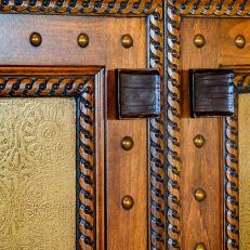 Carved Living Room Cabinets