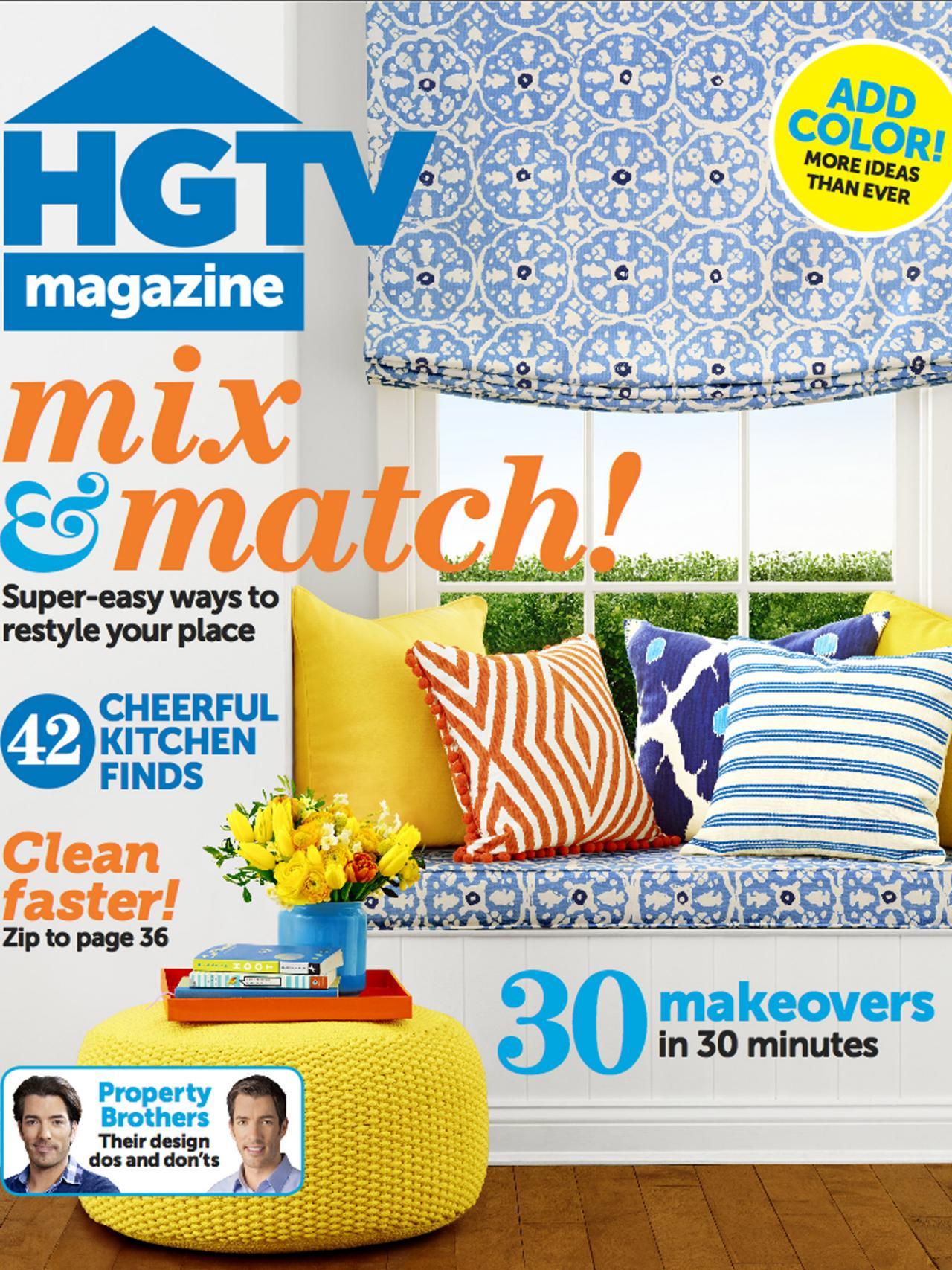 HGTV Magazine: April 2014