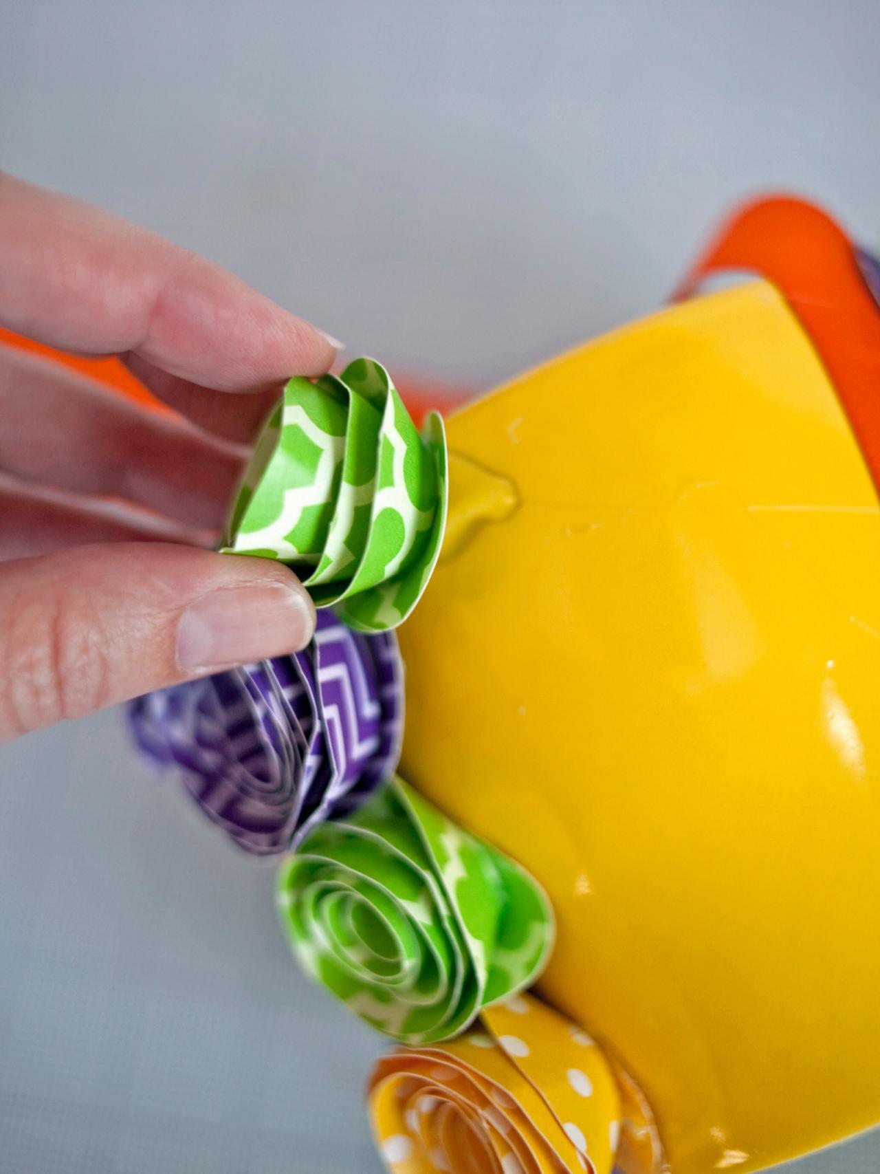 How To Make A Paper Flower Easter Basket Hgtv