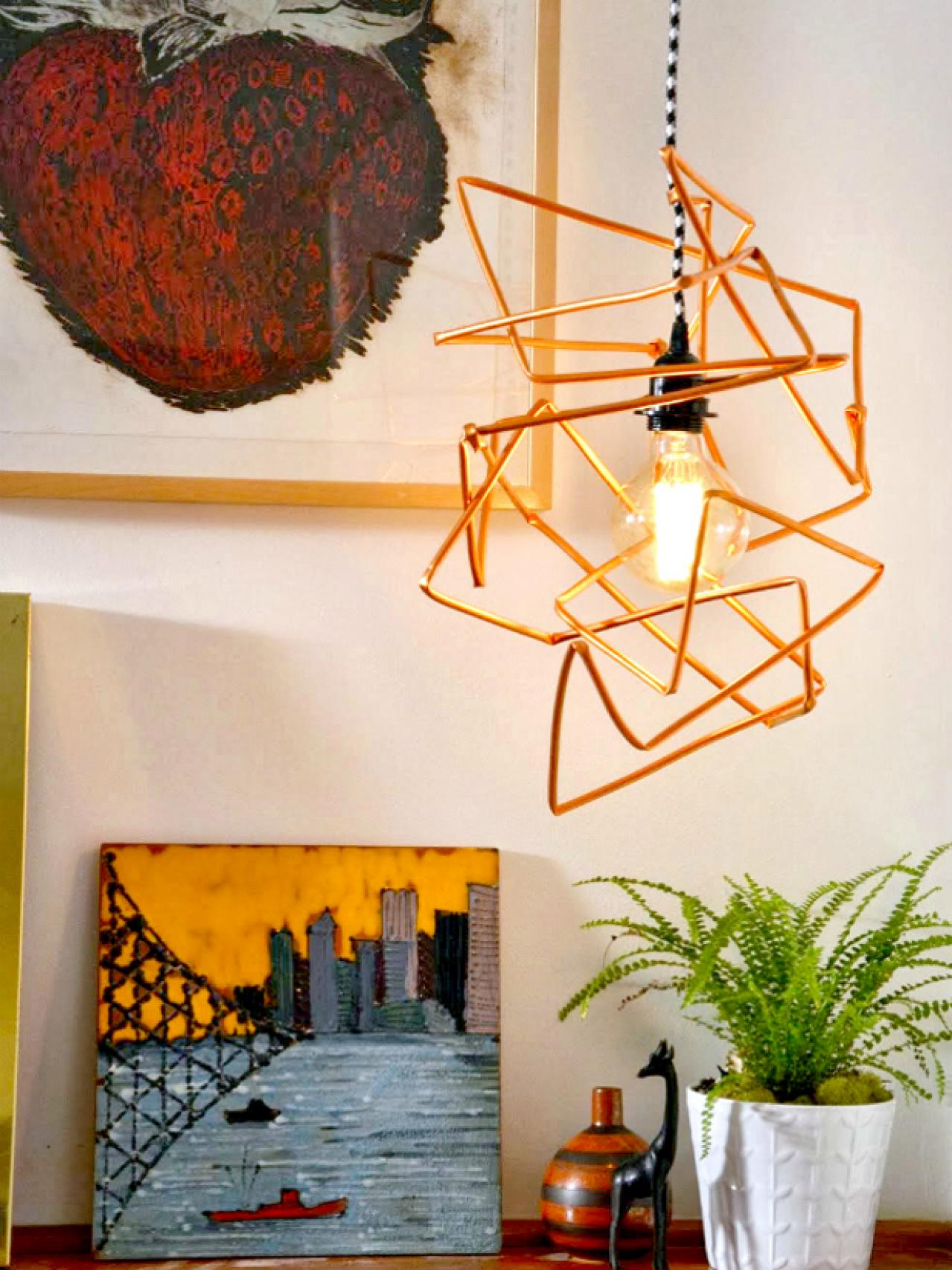 Beginner Geometric Pendant Light