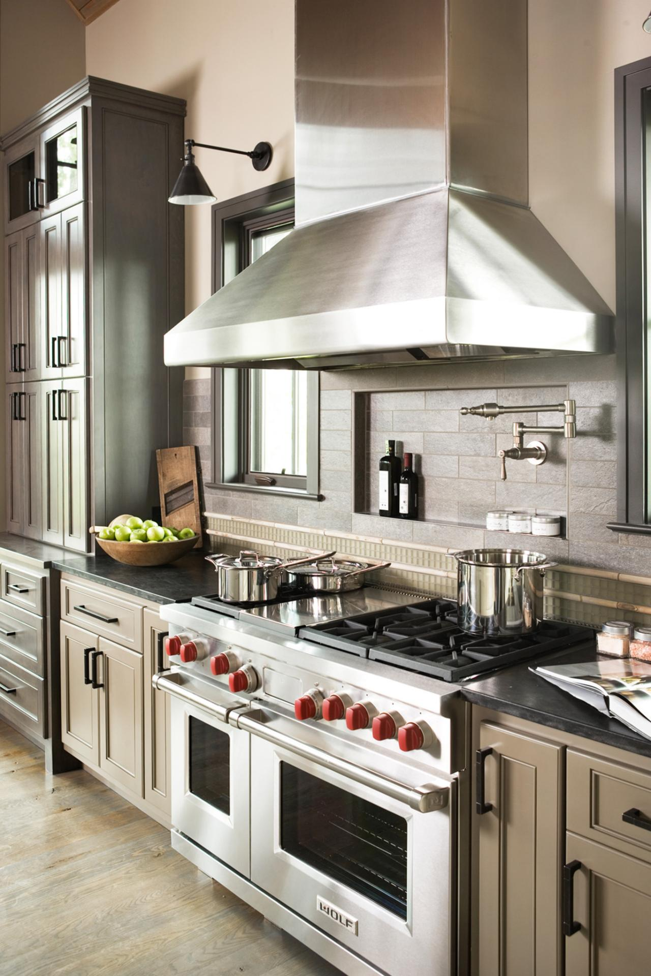 Cool Faucet Over Stove Kitchen Above Pot Tap Photo Page Hgtv
