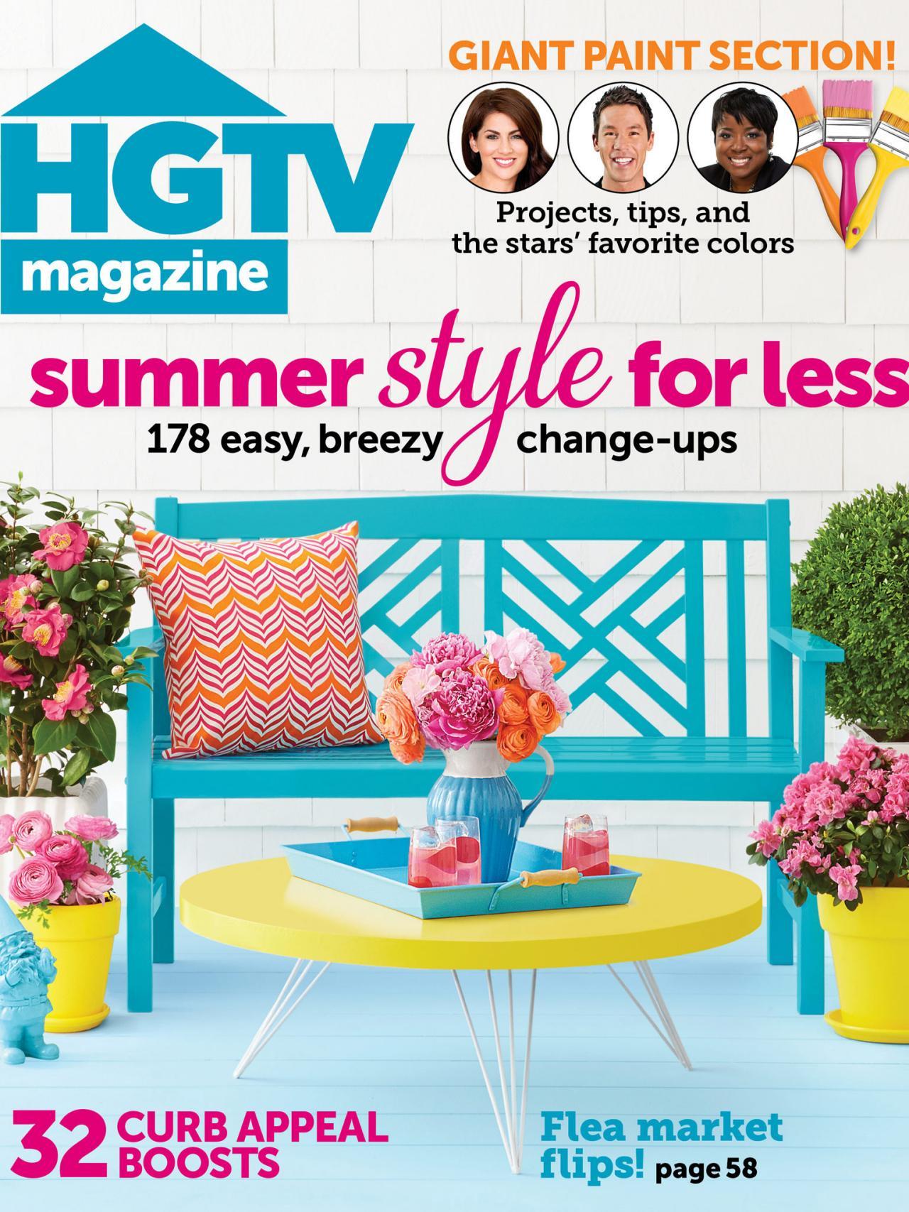 Hgtv Magazine June 2014 Online Content Hgtv