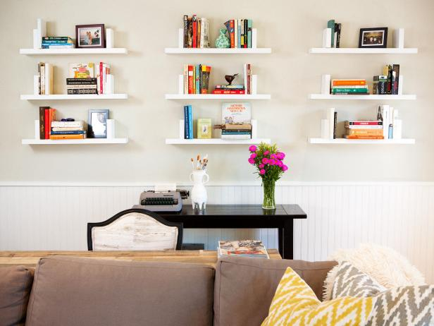 Wall Shelving Ideas For Small Spaces: Photo Page