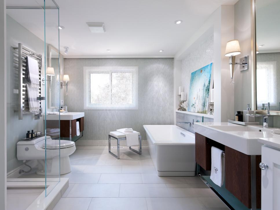 20 luxurious bathroom makeovers from our stars hgtv for Bathroom designs hd images