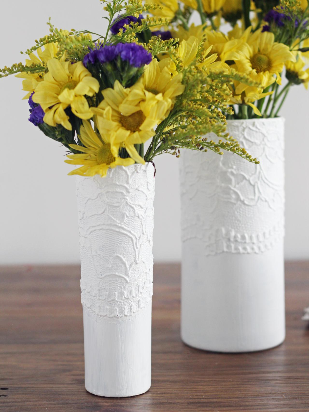 How to make a modern textured vase hgtv fill with flowers and enjoy reviewsmspy