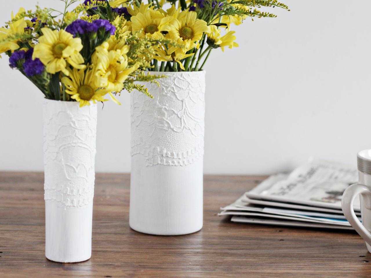 How to make a modern textured vase hgtv how to make a modern textured vase reviewsmspy