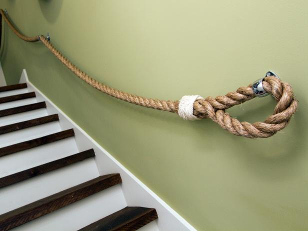 Rope Stair Bannister