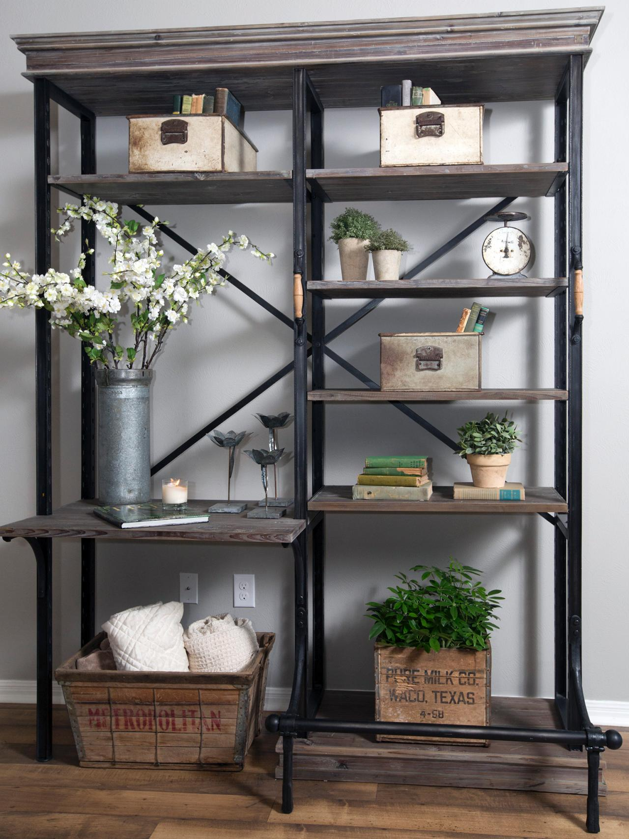 Love Fixer Uppers Perfectly Styled Bookshelves Our Tips To Up Your Shelfie Game