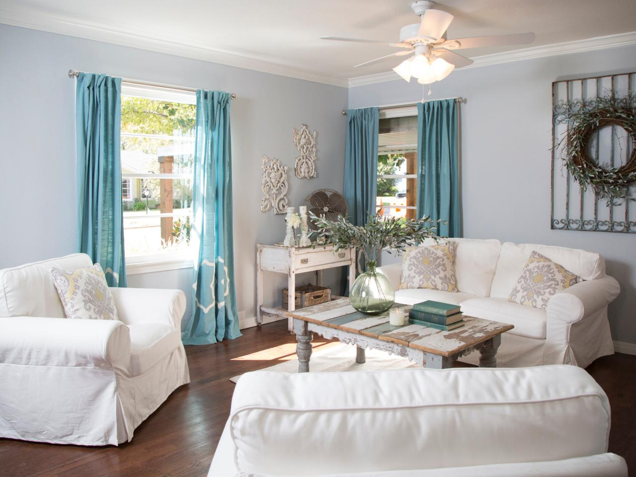 fixer upper living room curtains 5 home design tips from fixer s joanna gaines hgtv 745