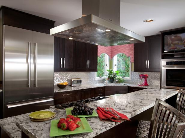 Kitchen design ideas hgtv for Kitchen gallery ideas