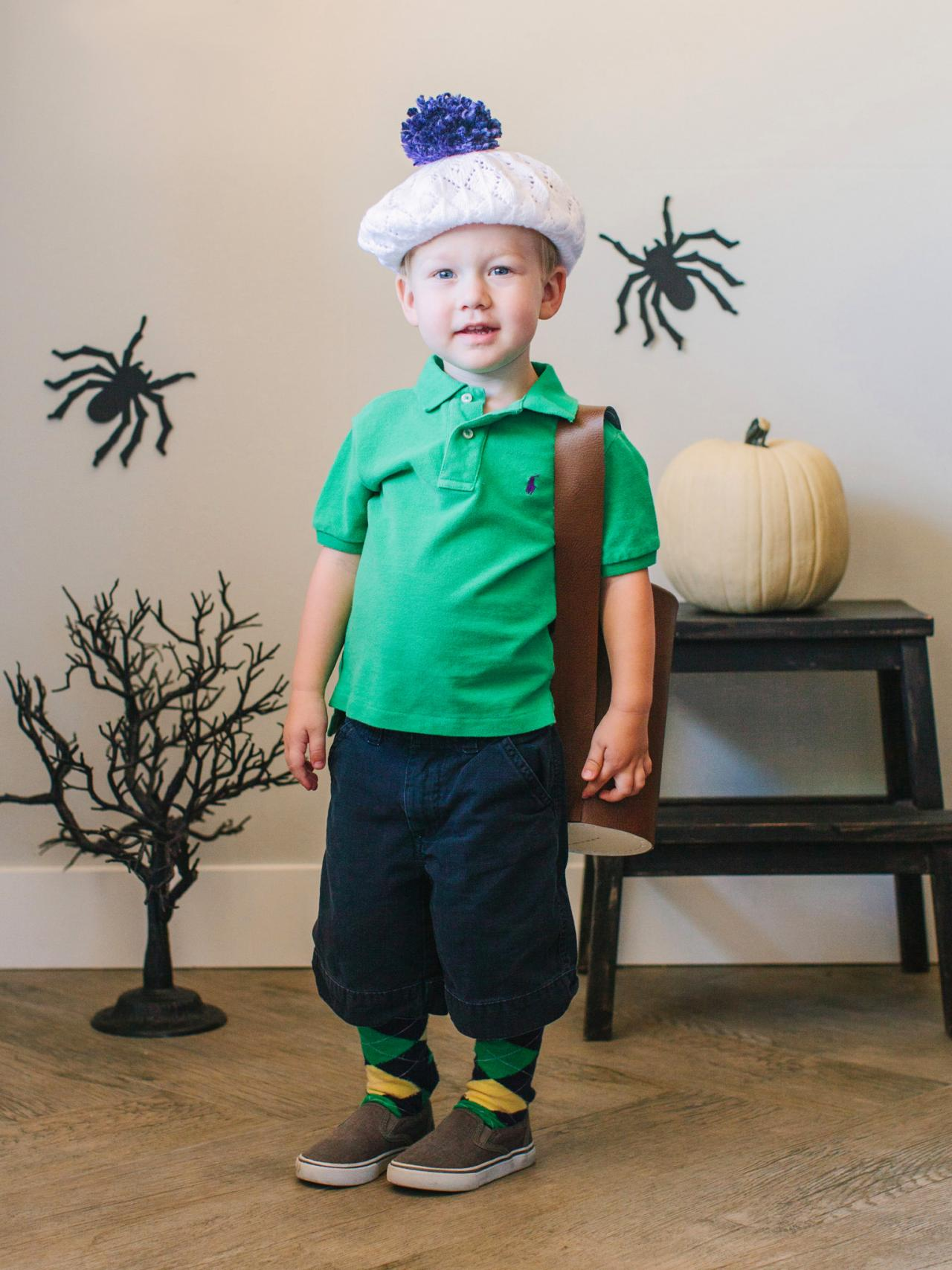 DIY Golfer Halloween Costume For Kids